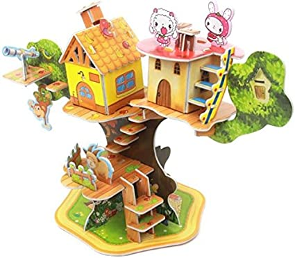 Generic 3D Puzzle Tree House