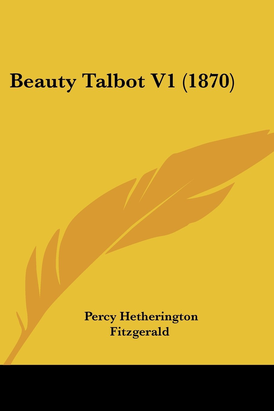 Beauty Talbot V1 (1870) pdf epub