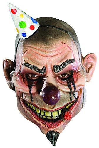 Rubies Child's Boozo 3/4 Vinyl Mask Clown 3/4 Mask
