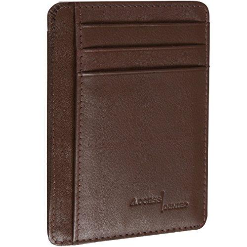 Access Denied Minimalist Genuine Leather