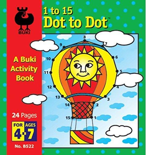 Buki 1-15 Dot to Dot Hot Air Balloon