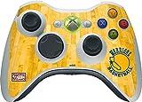 NBA Golden State Warriors Xbox 360 Wireless Controller Skin - Golden State Warriors Hardwood Classics Vinyl Decal Skin For Your Xbox 360 Wireless Controller