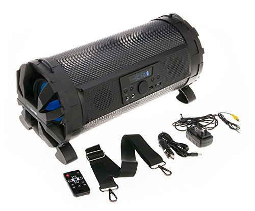 Soundstream Street Hopper 6 Speaker with Light Show 2-Channel Home Theater Stereo System by Soundstream