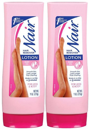 Nair Hair Removal Lotion - Baby Oil - 9 oz - 2 pk