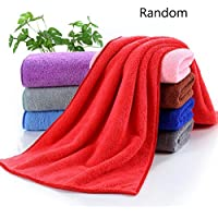 Niome Soft Warm Plush Fleece Blanket Random Color Flannel Blanket Throw Rug Bedding Decor 30*30CM