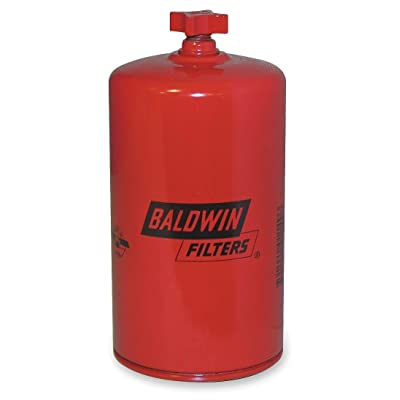 Baldwin Heavy Duty BF1266 Spin-On FWS Filter (With Drain): Automotive