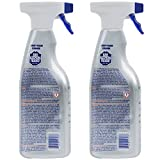 Bar Keepers Friend NEW trigger Spray + Foam Cleaner for Stainless Steel/Tile/Porcelain/Ceramic/Aluminum/Copper/Brass/Chrome/Glass, 25.4