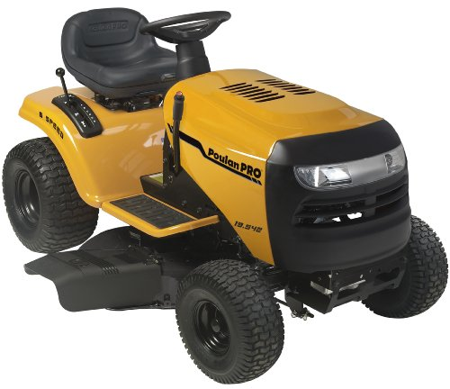 Poulan Pro PB19542LT 19.5 HP 6-Speed Lawn Tractor, 42-Inch