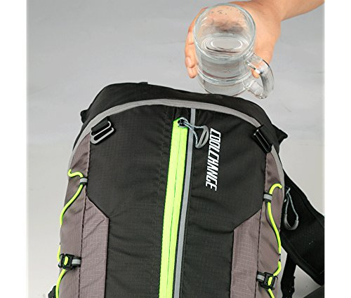 Dreamtop Coolchange Cycling Backpack,Portable Lithe Breathability Waterproof Highly Tear Resistant Rapid Drinking Water System Night Reflection System Backpack Cycling for Women Men