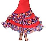 Women's Paso Doble Ballroom Flamenco Dance
