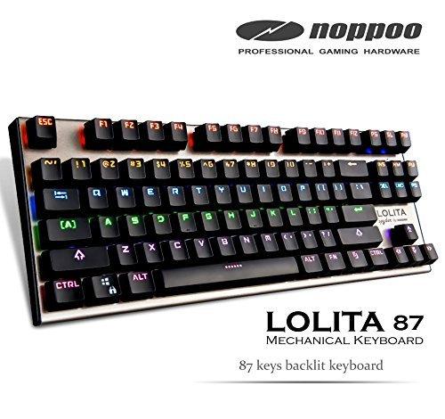 (Mechanical Gaming Keyboard - Lolita Spyder 87 RGB Rainbow light [Kailh Brown Switch])