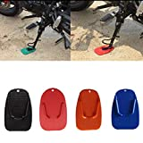 Bright Color Design Motorcycle Kickstand Side Stand Plate Pad Base for Yamaha, Orange