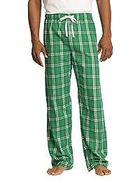 District Men's Young Flannel Plaid Pant