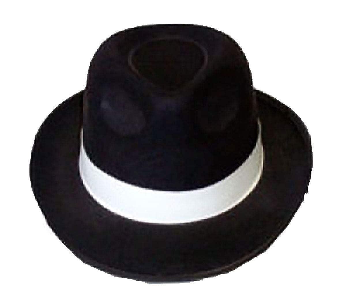 Mens Cowboy Clown Topper Fancy Hats Unisex Straw Gangster Topper Beret Hats