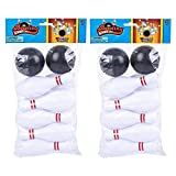 Gamie Bowling Game for Kids, 2 Sets, Each Set