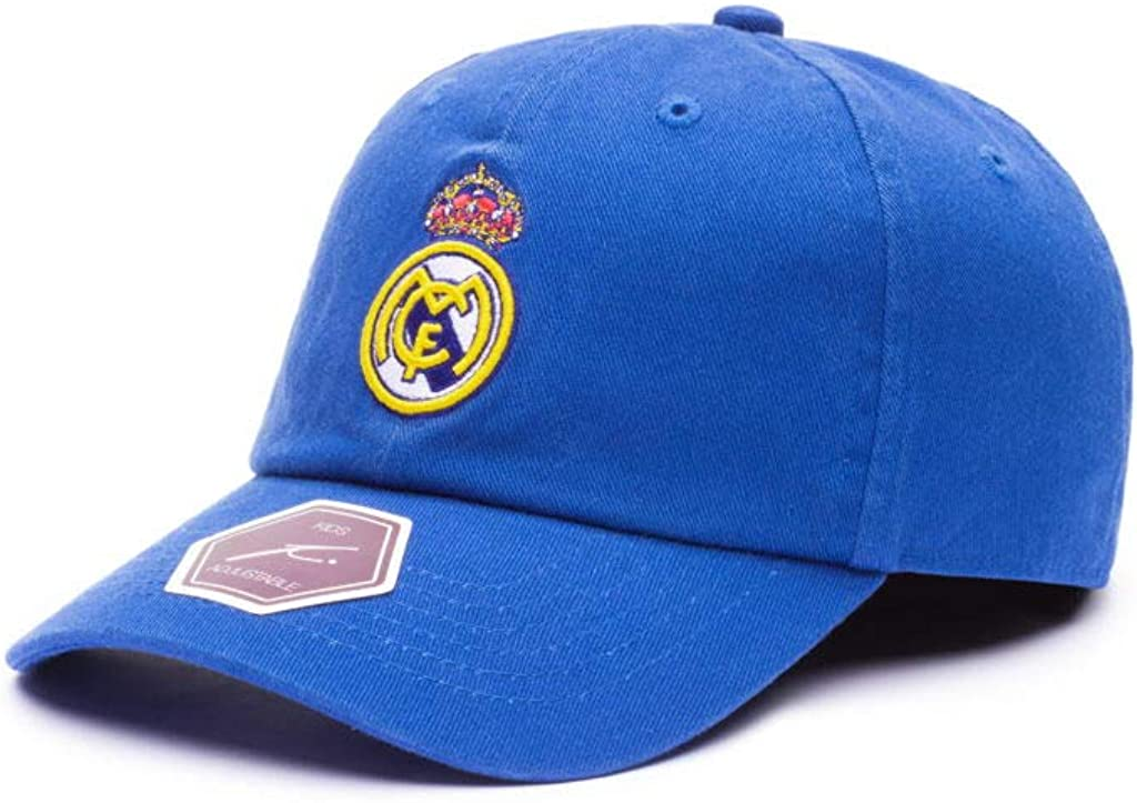 Classic Youth Baseball Hat Blue Fi Collection Real Madrid