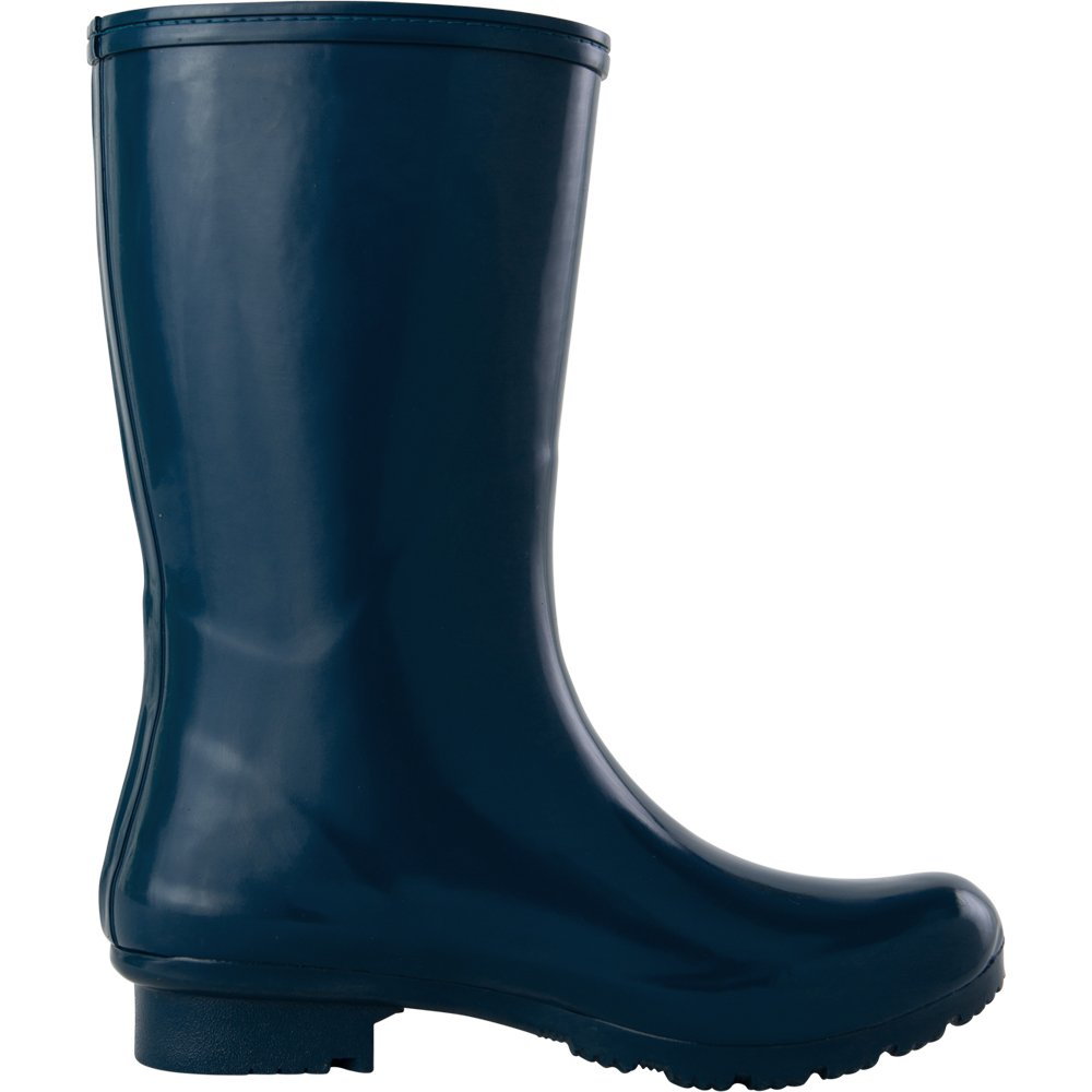 Roma Boots Women's Emma Short Rain Boot, Navy, 9 M US by Roma Boots (Image #5)