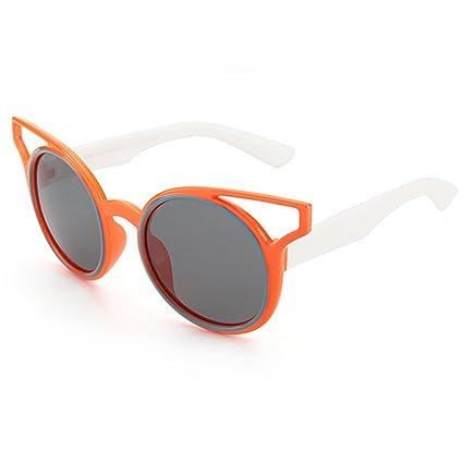 Personalidad Niños Gafas de Sol polarizadas Suave y Cómodo Protección UV400 Lentes Reflectantes para Niñas y