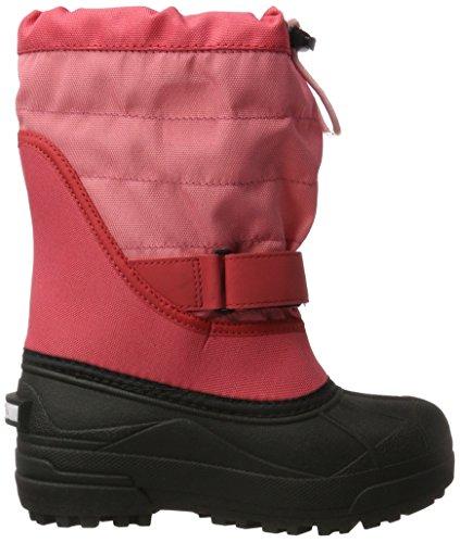 Columbia Mädchen Youth Powderbug Plus II Schneestiefel Pink (Wild Salmon/ Rosewater)