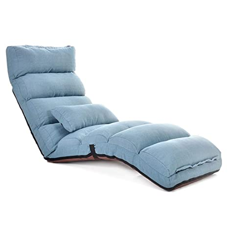 T-T-H Lazy Sofa Cama sofá Cama Individual Silla de Piso ...