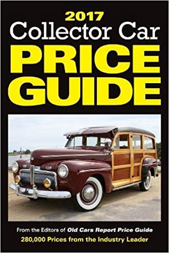 Collector Car Price Guide From The Editors Of Old Cars