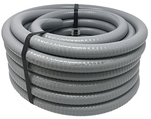 Sealproof 3/4-Inch Flexible Non-metallic Liquid-Tight Electrical Conduit Type B, UL Listed, 3/4