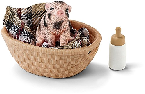 ca Mini Pig with Bottle Set ()