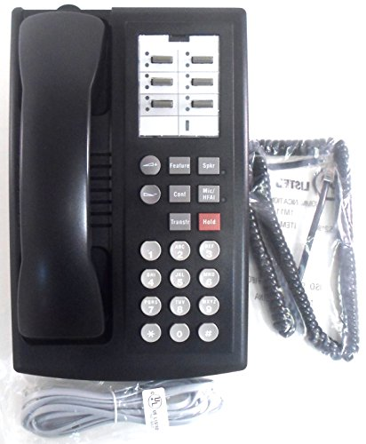 Avaya 107854788 6 Button Partner Series 1 Phone - Black (Refurbished)