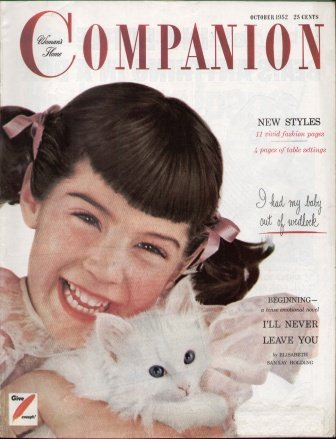 WOMAN'S HOME COMPANION (OCTOBER 1952) Magazine, Volume LXXIX, No. 10