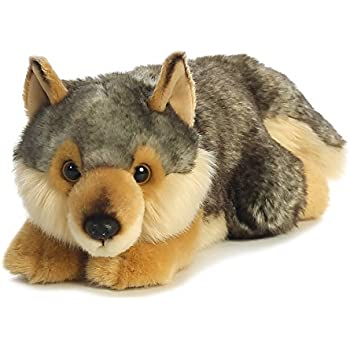 Amazon com: Wild Republic Jumbo Wolf Plush, Giant Stuffed