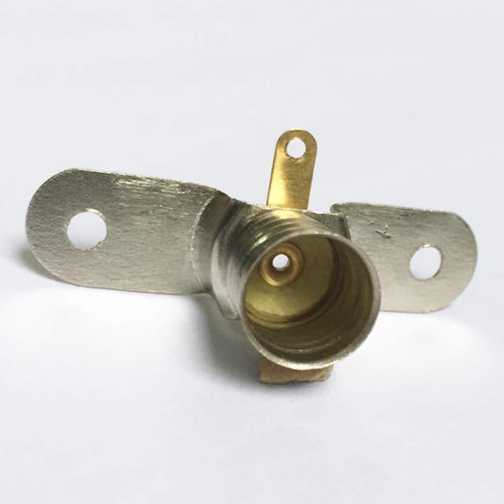 10 unidades, montaje con tornillos, soporte para bombillas peque/ñas Bombillas LED GutReise E10