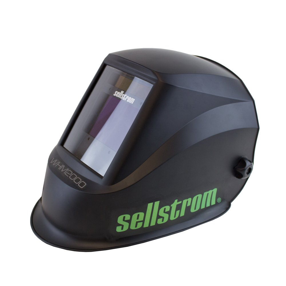 Sellstrom S26200 Advantage Plus Series Welding Helmet with Large ADF - Black/Green