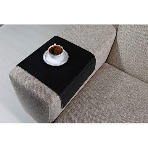 Astonishing Amazon Com Sofa Tray Table Sofa Arm Table Full Slatted Evergreenethics Interior Chair Design Evergreenethicsorg