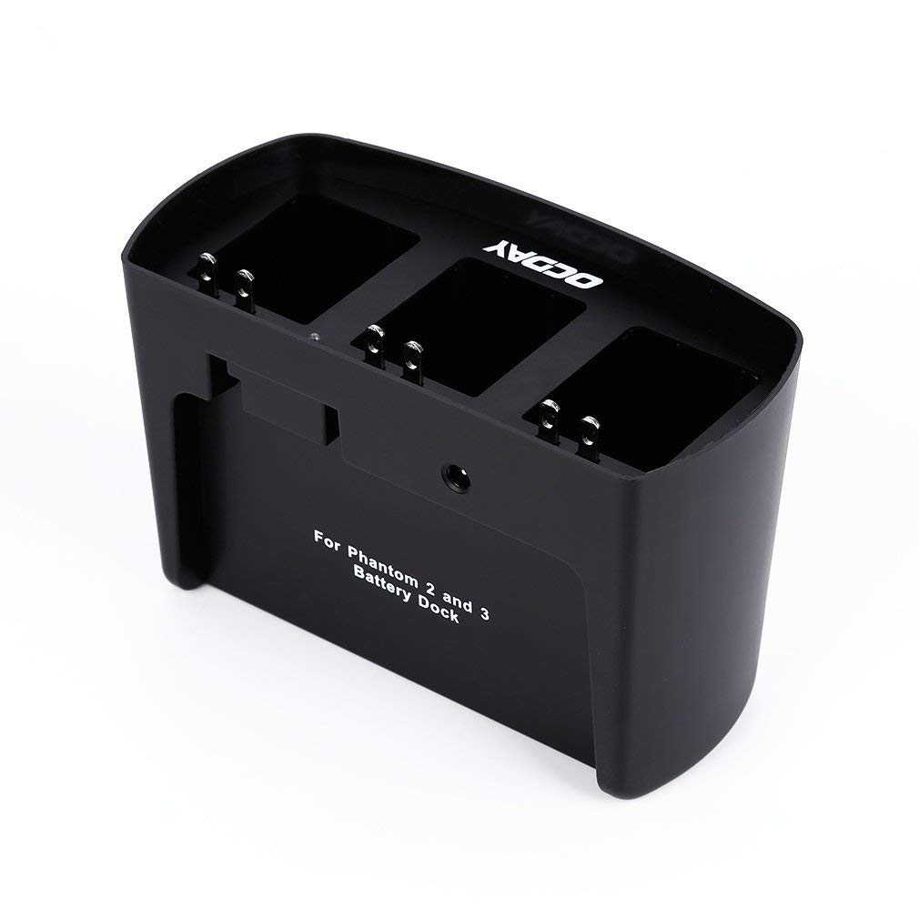Amazon.com: OCDAY - Cargador de batería 3 en 1 para DJI ...