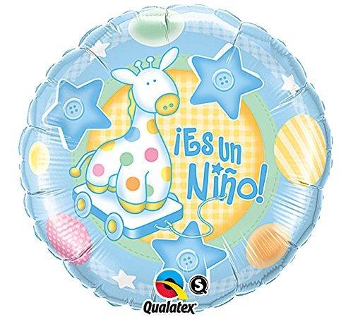 PIONEER BALLOON COMPANY Es Un Nino Foil Packaged Balloon, 18