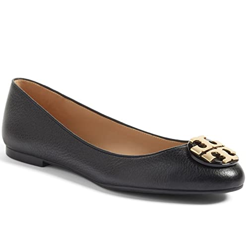 d55637be3ea58 ... navy 6 5  com tory burch tumbled leather claire ballet flat flats ...
