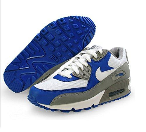 Nike Air Max 90 Grijs / Wit, Royal Herenhardloopschoen Sneakers 325018-054
