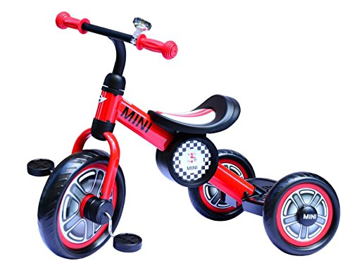 Outdoor Kids 3-Wheel Fun Toy New Red