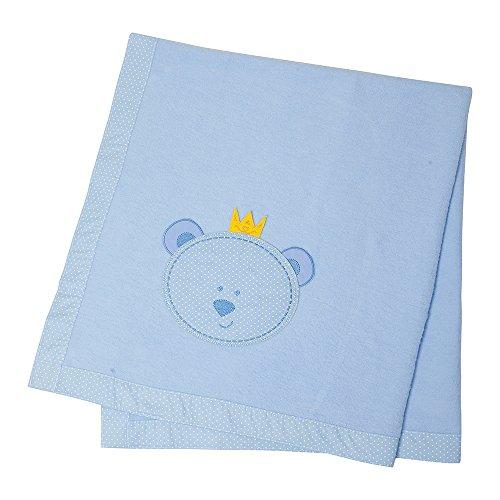 Cobertor, Papi Textil, Azul, 1.10Mx90Cm