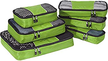eBags Classic Packing Cubes for Travel 6pc Value Set
