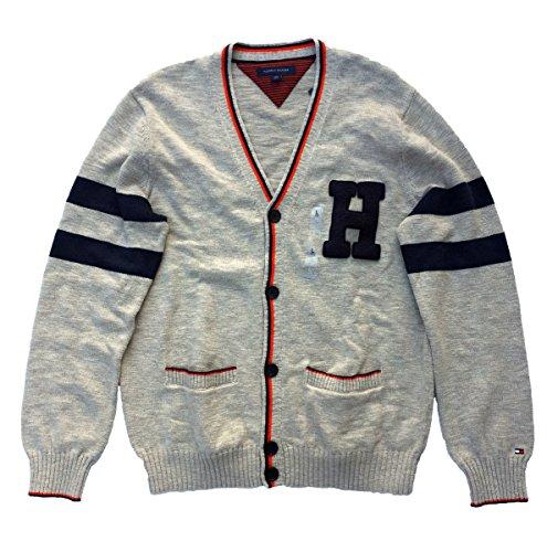 Tommy Hilfiger Men's Varsity Appliqué Cardigan (L)