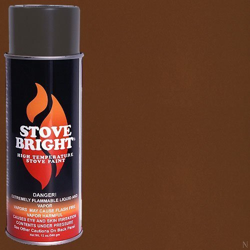 Stove Bright High Temp Paint - Russett by Stove Bright