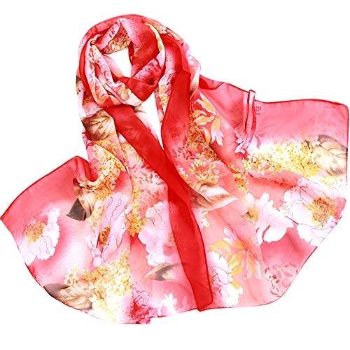 Fashion Scarfs for Women Hot Sale,DEATU Girls Floral/Lotus Printing Long Soft Wrap Scarf Ladies Shawl - Scarf Ravens Baltimore Jersey