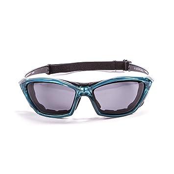 Ocean Sunglasses Lake Garda - Gafas de Sol polarizadas - Montura : Azul Transparente - Lentes