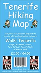 Tenerife Hiking Map