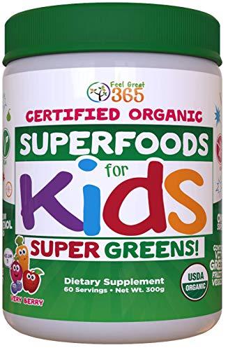 Certified USDA Organic Superfood