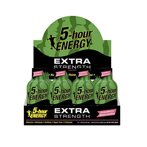 Extra Strength 5-hour ENERGY Shots – Strawberry Watermelon Flavor – 24 Count by 5-Hour ENERGY (Image #5)