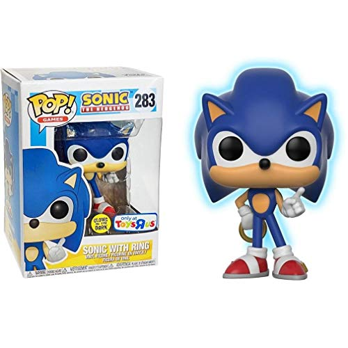 Sonic The Hedgehog Funko POP 3 75 Vinyl Figure Sonic with Ring
