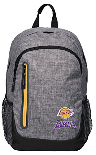 Forever Collectibles Los Angeles Lakers Bold Grey Backpack by Forever Collectibles