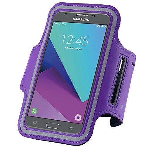 Sports Armband For Samsung Galaxy J3 2016 (Black) - 3
